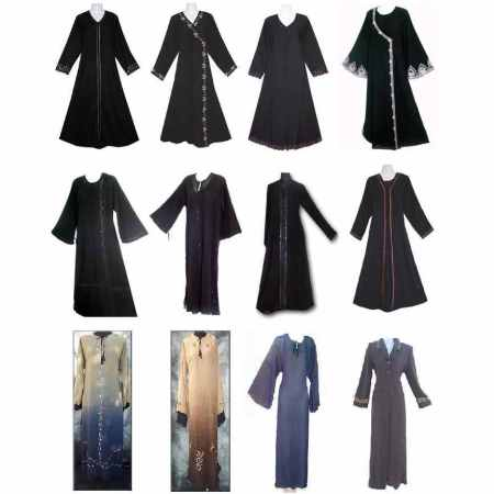 many styles of abayas