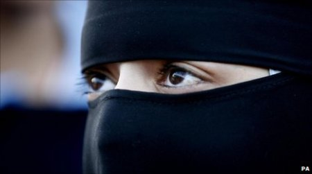 niqab face cover